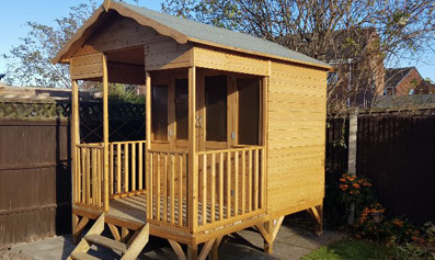 Adley 8' x 11' Cornwall Summer House