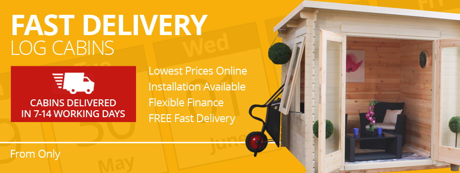 Fast Delivery Log Cabins