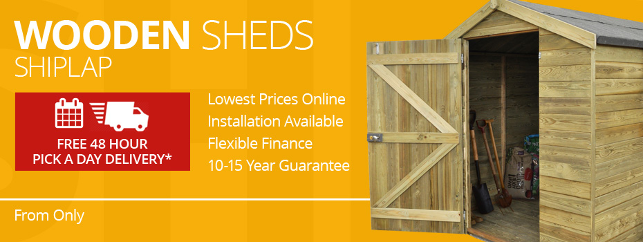 Shiplap Wooden Sheds