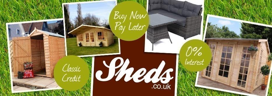 Sheds & Log Cabins On Finance