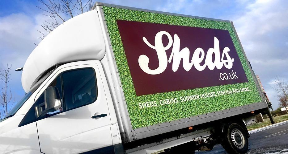 Sheds.co.uk Delivery Van
