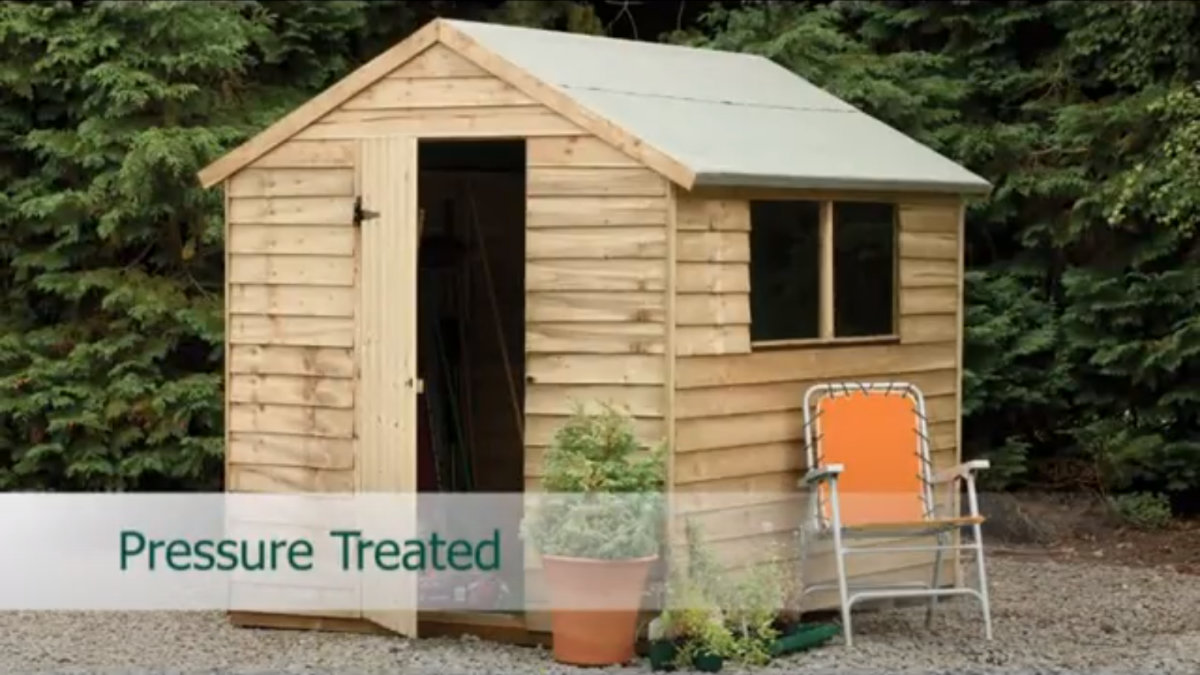 Play Wooden Garden Sheds Explained Video