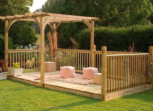 Garden Decking Ideas – Is Decking My Garden a Good Idea?
